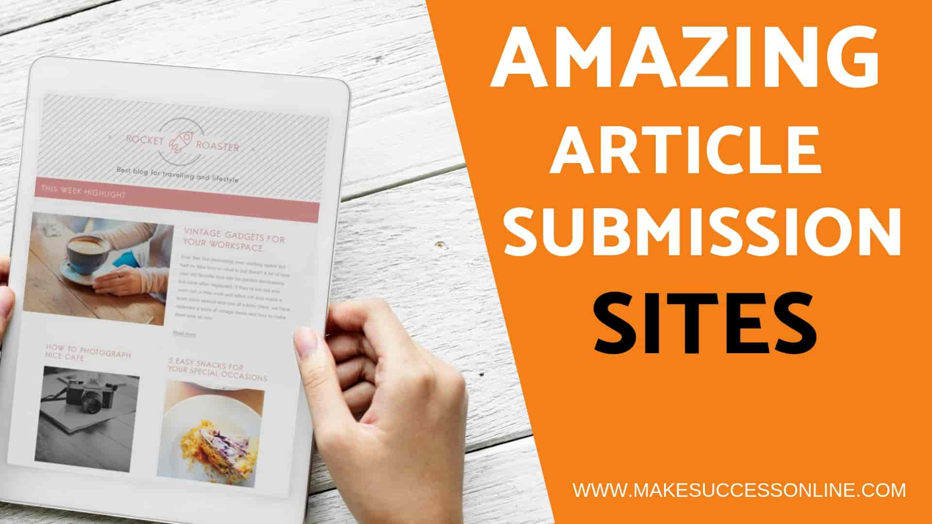 High pr article submission sites list