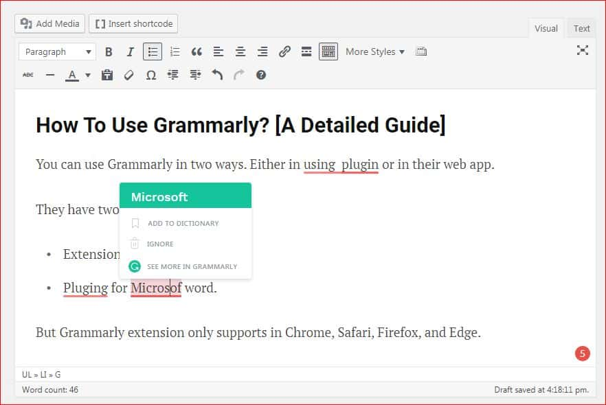 grammarly premium free trail