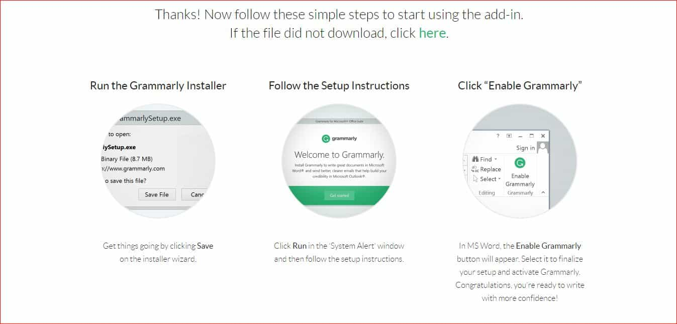 how to install grammarly in microsoft word