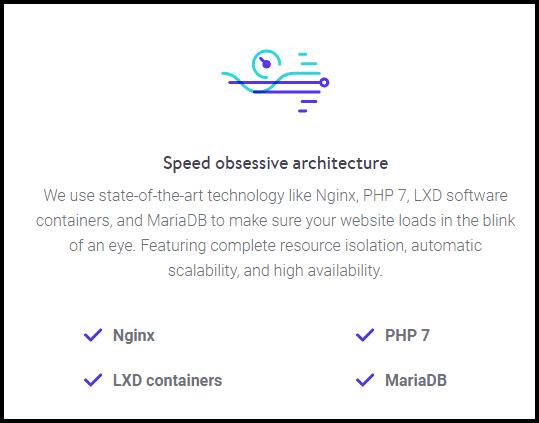 kinsta hosting speed